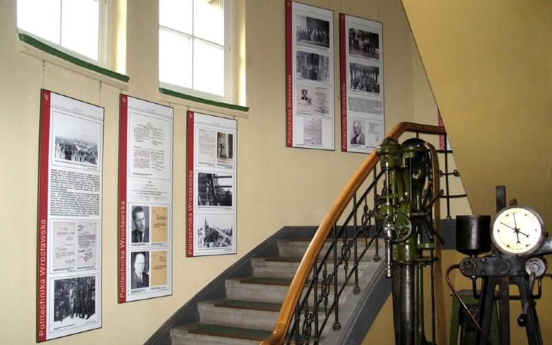 Wnętrze Muzeum Politechniki Wrocławskiej